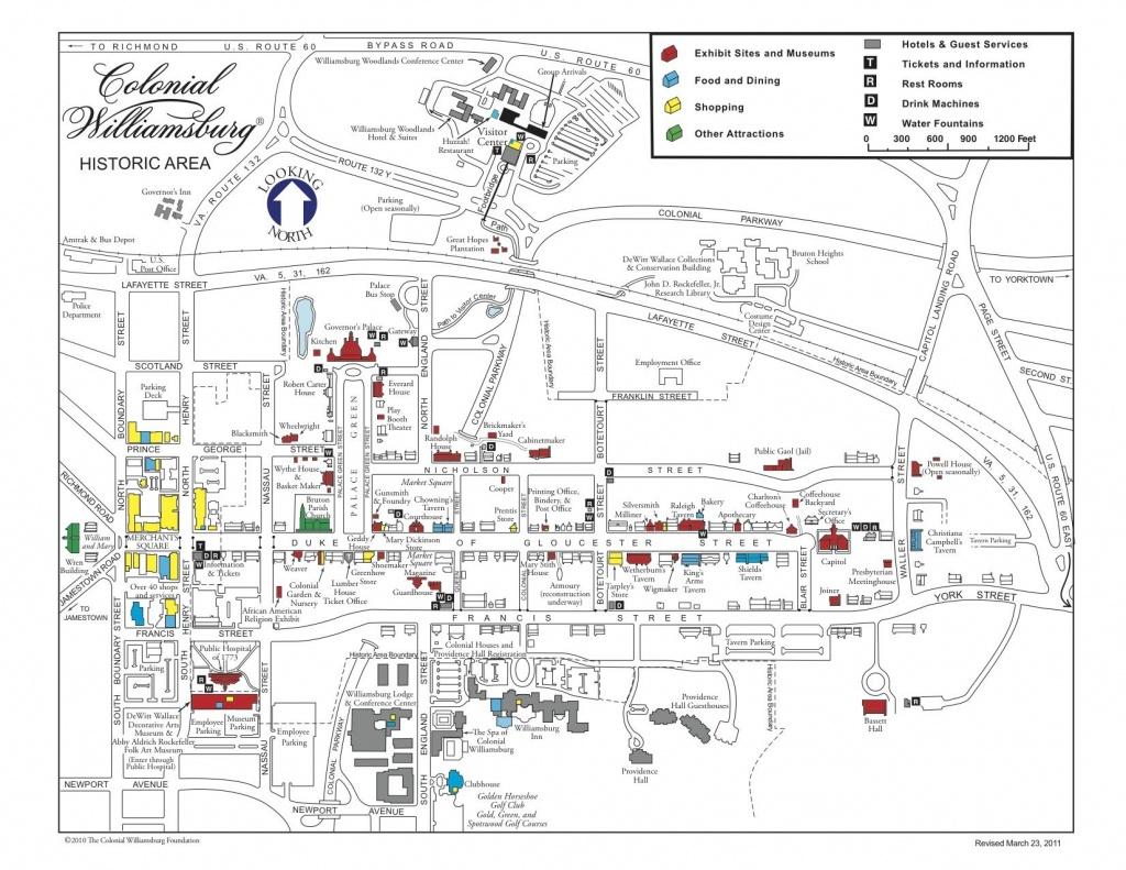 Visiting Colonial Williamsburg, Virginia! Huzzah!!   Daisy Ideas - Colonial Williamsburg Printable Map
