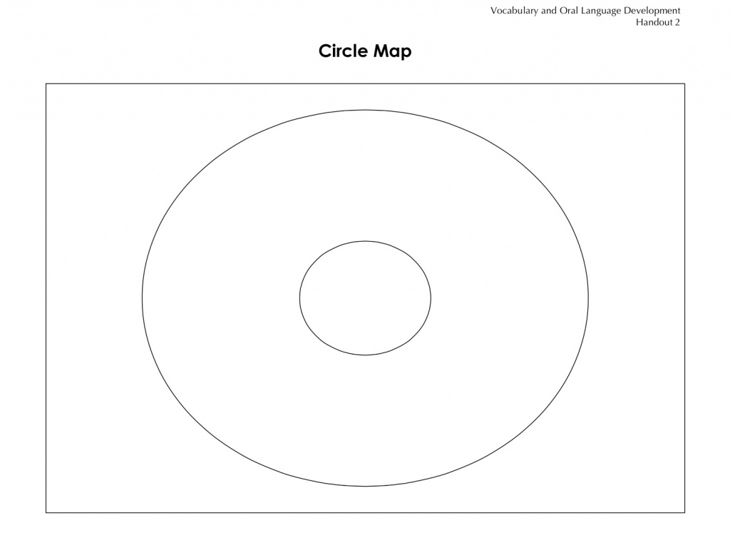 Vocabulary Graphic Organizer: Circle Map | Building Rti - Circle Map Template Printable