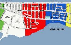 Printable Map Of Waikiki