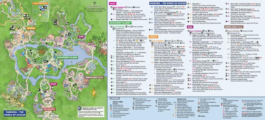 Walt Disney World 7-Day Ultimate Ticket   Disney Memory Maker Bonus! - Disney Florida Maps 2018