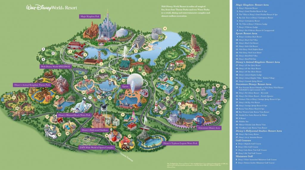 Walt Disney World Maps - Parks And Resorts In 2019 | Travel - Theme - Disney Orlando Florida Map