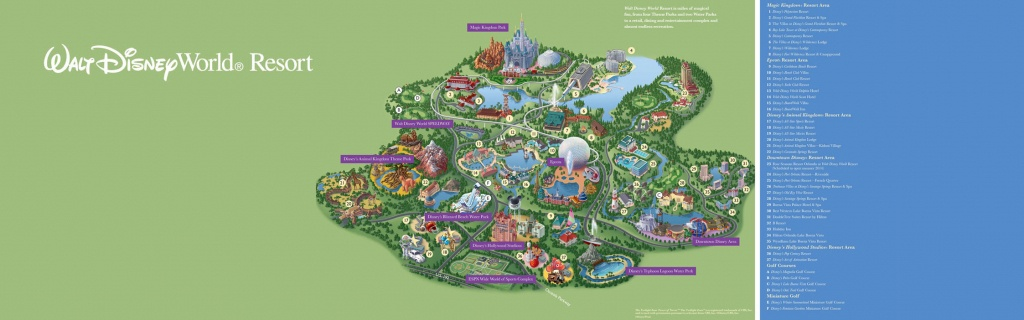 Walt Disney World® Resort Map- Wyndham Lake Buena Vista - Hotel Near - Florida Resorts Map