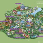 Walt Disney World® Resort Map  Wyndham Lake Buena Vista   Hotel Near   Map Of Disney Florida Hotels