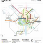 Washington Dc – Cameron Booth   Printable Metro Map Of Washington Dc