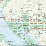 Washington Dc Maps   Top Tourist Attractions   Free, Printable City   Map Of Downtown Washington Dc Printable