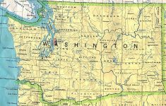 Washington Maps – Perry-Castañeda Map Collection – Ut Library Online – Washington State Road Map Printable