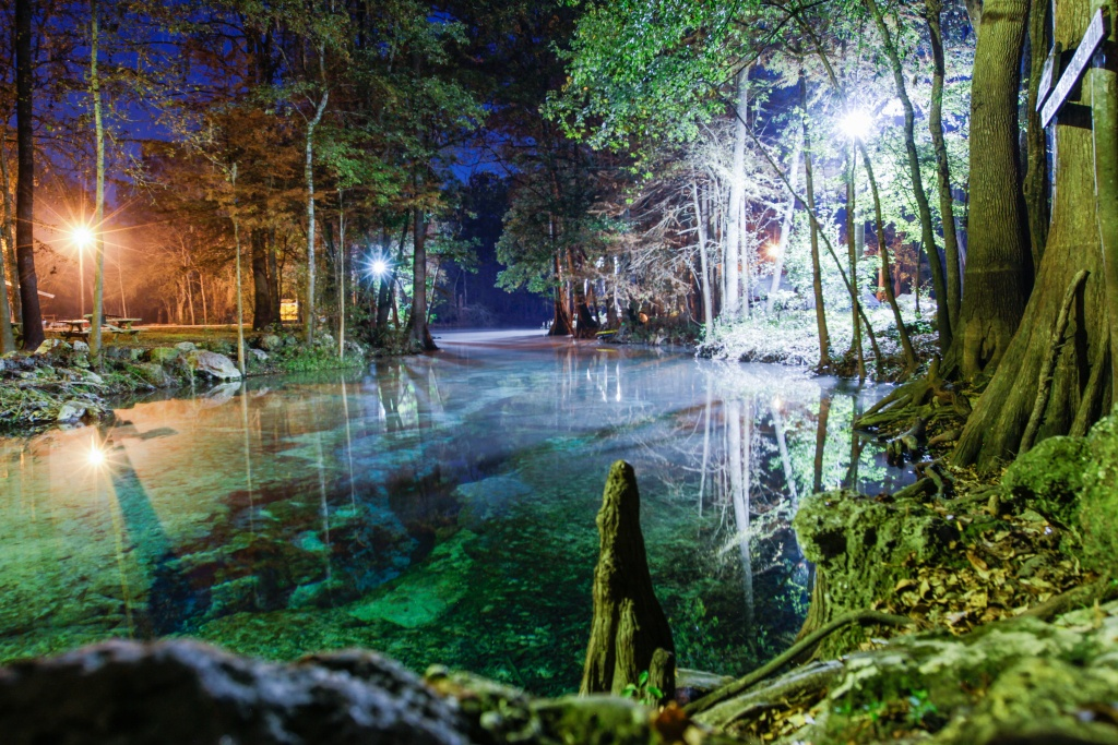 Water & Electric Sites | Ginnie Springs Outdoors | High Springs, Fl - Ginnie Springs Florida Map