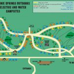 Water & Electric Sites | Ginnie Springs Outdoors | High Springs, Fl – Map Of All Springs In Florida