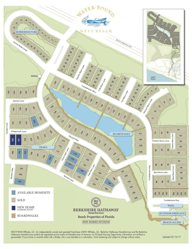 Watersound West Beach : Your Private 30A Getaway - Watersound Florida Map
