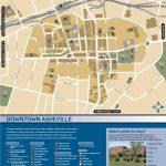 Wayfinding Downtown Map Thumbnail | Asheville, Nc | Downtown   Printable Map Of Downtown Asheville Nc