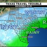 Weather Forecast Leading Into Christmas Hints At Travel   Texas Forecast Map