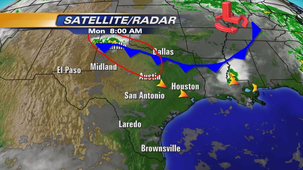 Weather Map Austin | Dehazelmuis - Texas Radar Map