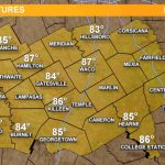 Weather Maps On Kcentv In Waco   Waco Texas Weather Map