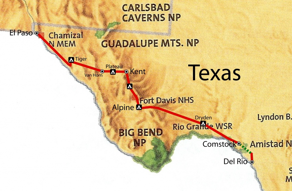 West Texas Map | West Texas | Texas, Texas Vacations, West Texas - Fort Davis Texas Map
