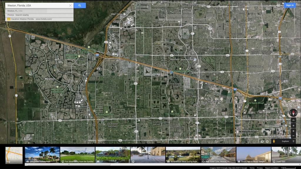 Weston Florida Map - Google Maps Weston Florida