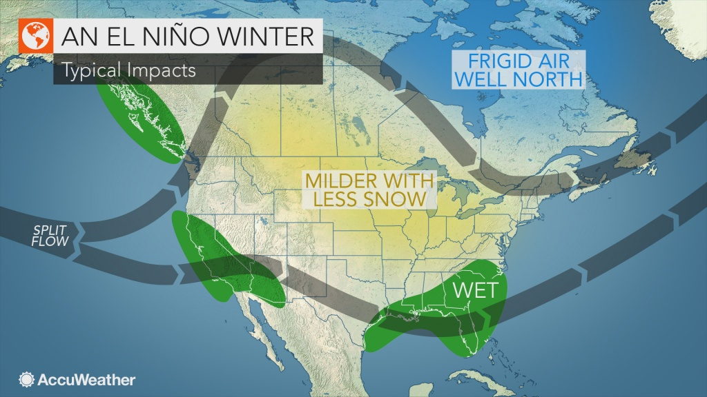 What Is El Niño? - Current Weather Map California