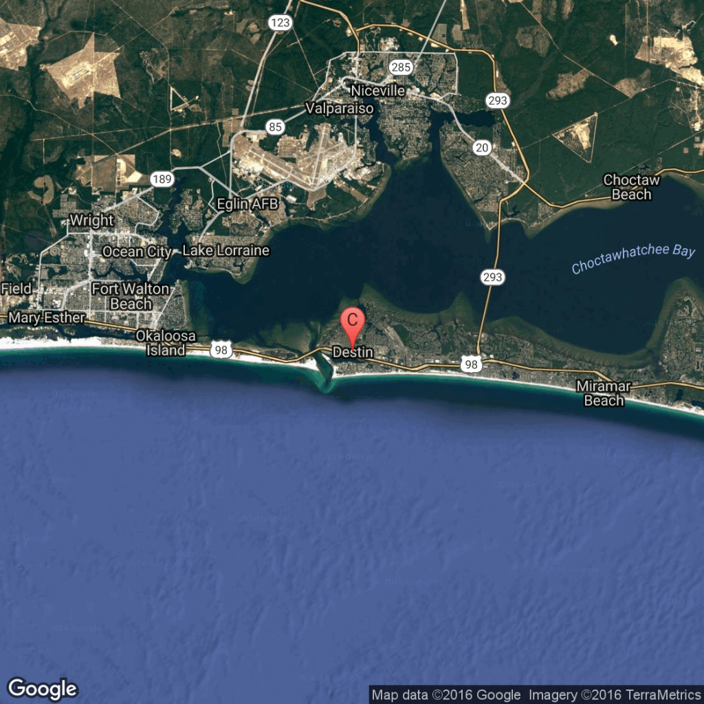 What Is The Closest Major Airport To Destin, Florida? | Getaway Usa - Florida Map Destin Fl