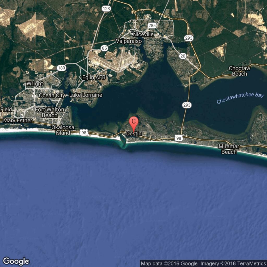 What Is The Closest Major Airport To Destin, Florida? | Getaway Usa - Google Maps Destin Florida