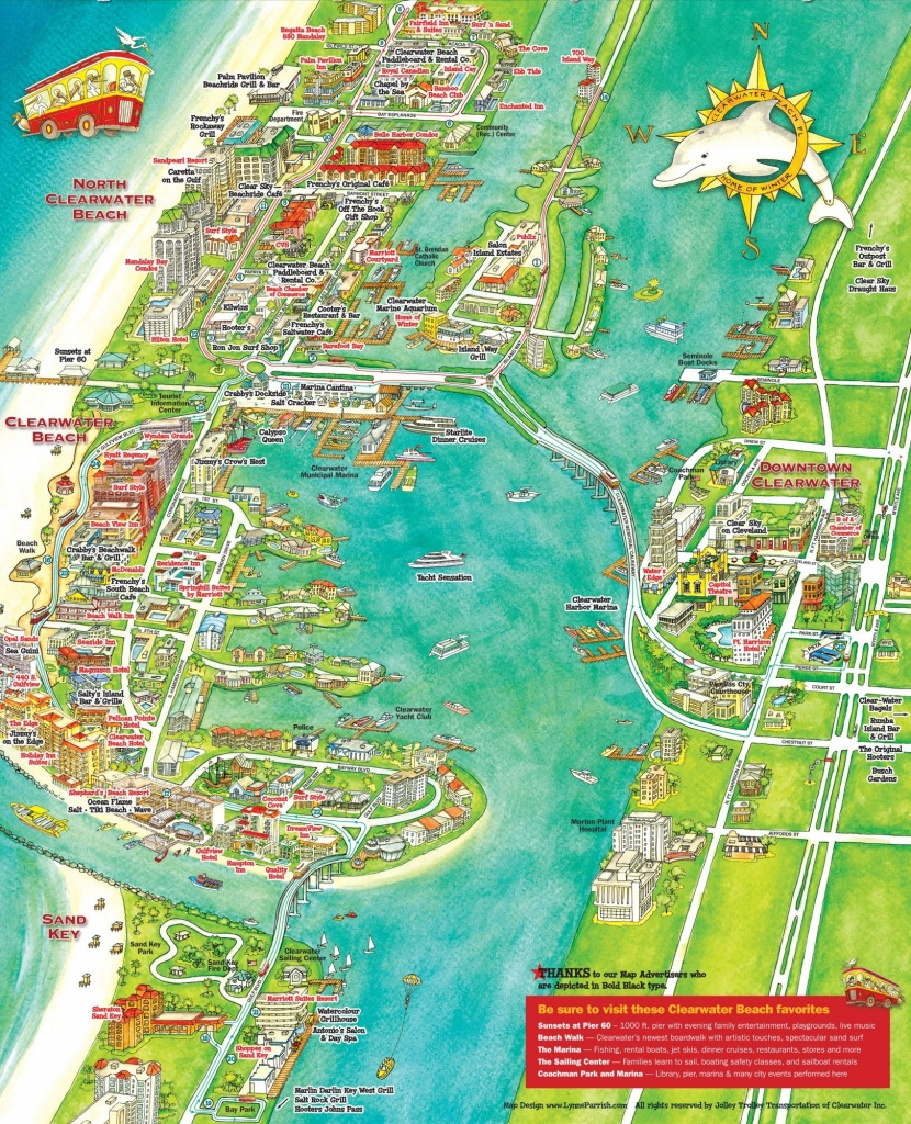 What To Do In Clearwater, Florida | Florida | Clearwater Beach - Map Of Hotels On St Pete Beach Florida