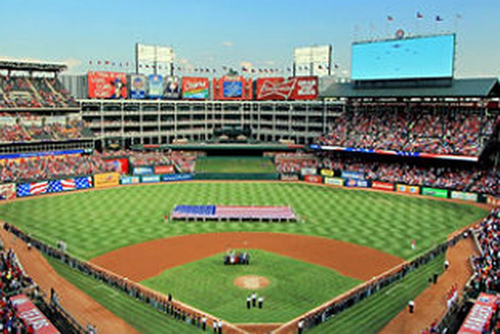 What To Eat This Season At Globe Life Park, Home Of The Texas - Texas Rangers Stadium Parking Map