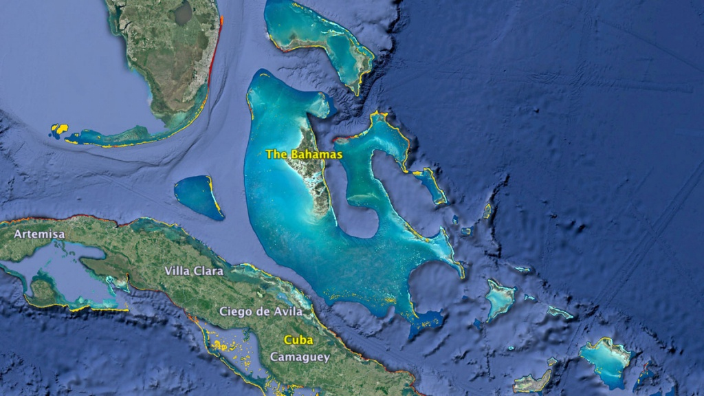 Where Can I Find Coral Reefs Near Me? | Kcet - Coral Reefs In Florida Map