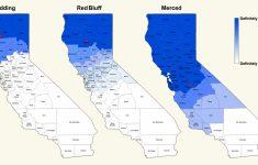 Divide California Map
