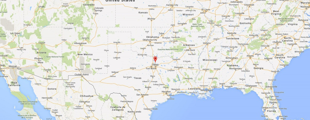 Where Is Frisco Texas? - Map Of Texas Showing Frisco
