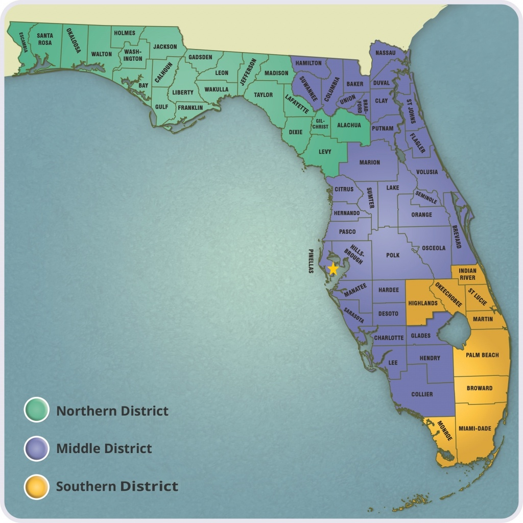 Where We Practice In Florida - Abbey Adams Byelick & Mueller, Llp - Florida 6Th District Map