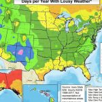 Who Has The Worst Weather?   Chill Hours Map California