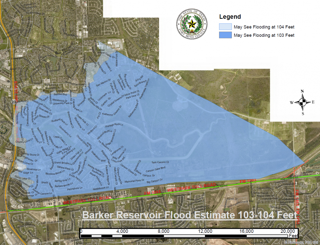 Why Eastern Cinco Ranch Is In Danger Of Flooding - Video - Katy Texas Flooding Map