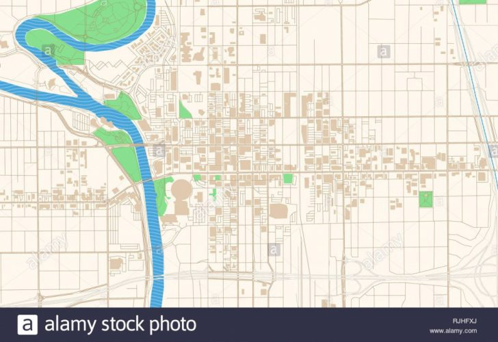 Printable Street Map Of Wichita Ks