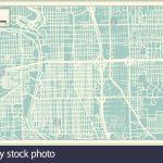 Wichita Kansas Usa City Map In Retro Style. Outline Map. Vector   Printable Street Map Of Wichita Ks