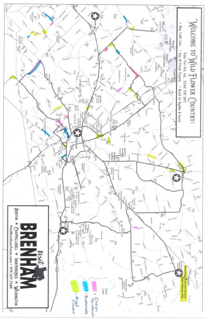 Wildflower Watch - Brenham, Texas & Washington County - Google Maps Brenham Texas