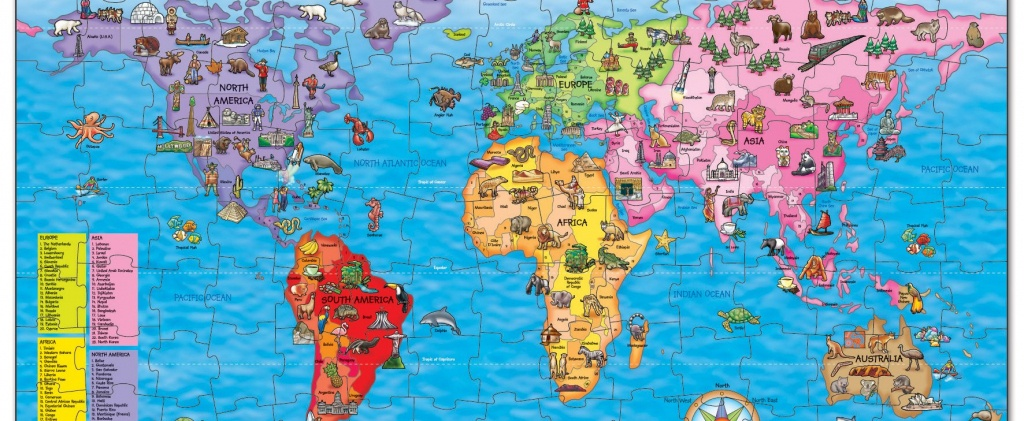 Win A World Map Jigsaw Puzzle | National Geographic Kids - National Geographic Printable Maps