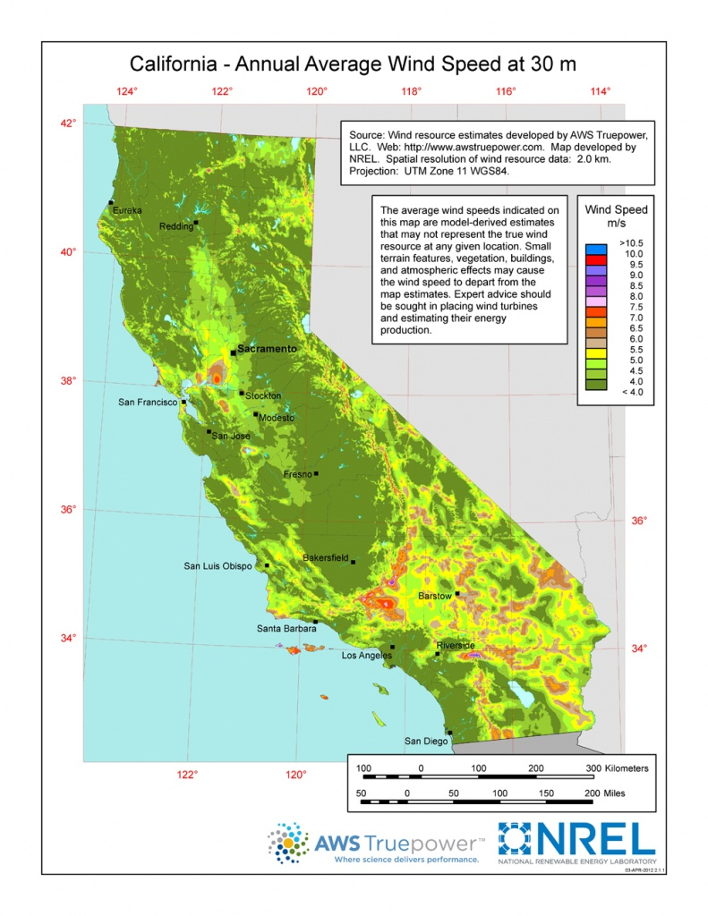 Windexchange: Wind Energy In California - California Electric Utility Map