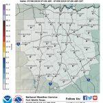 Winter Weather Probabilities   Waco Texas Weather Map