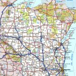 Wisconsin Road Map   Printable State Road Maps