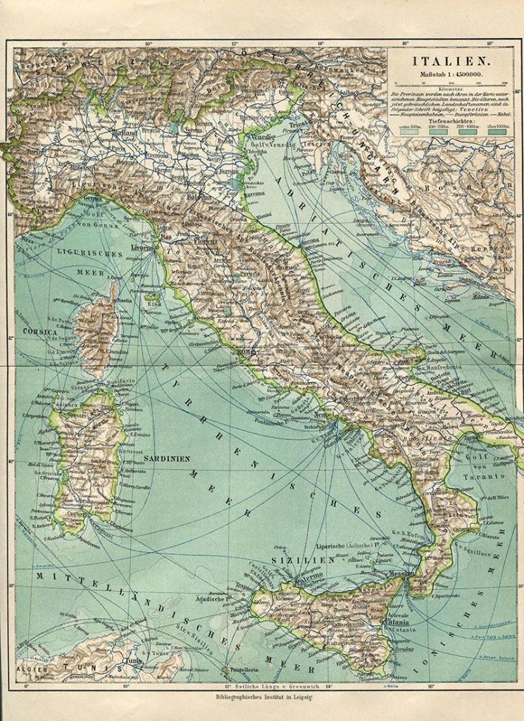 Wonderful Free Printable Vintage Maps To Download   Fonts - Free Printable Vintage Maps