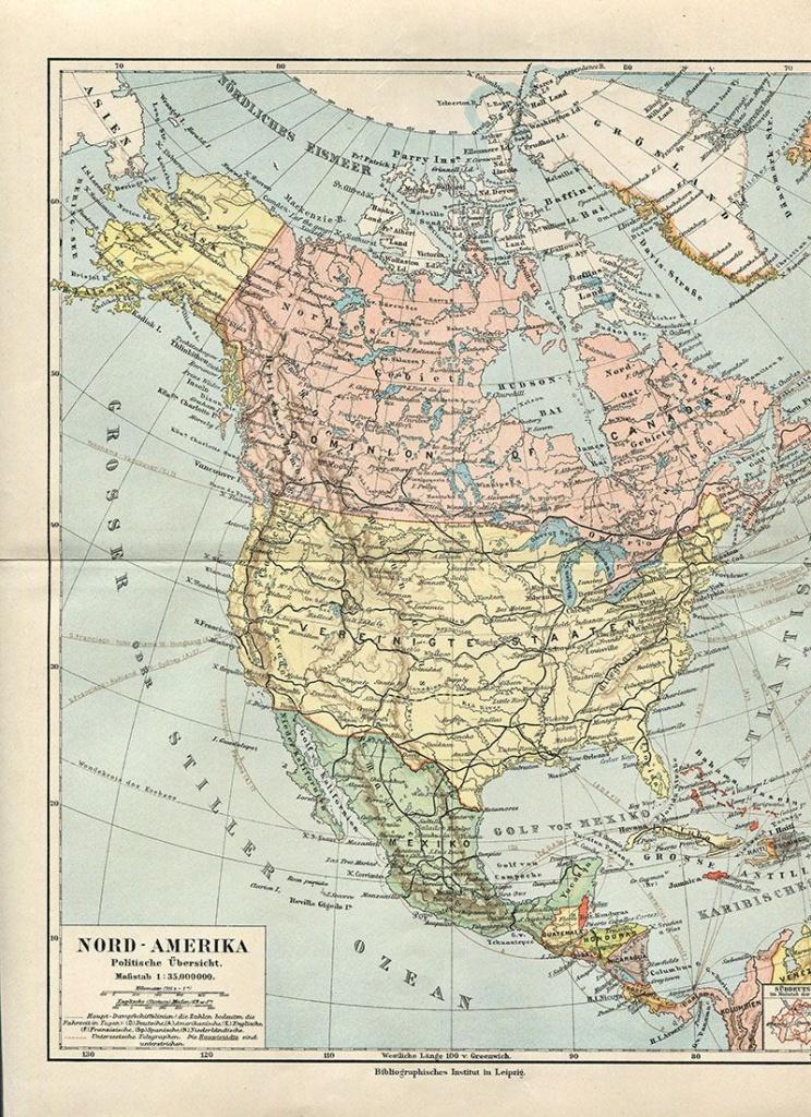Wonderful Free Printable Vintage Maps To Download   Other   Map - Free Printable Vintage Maps