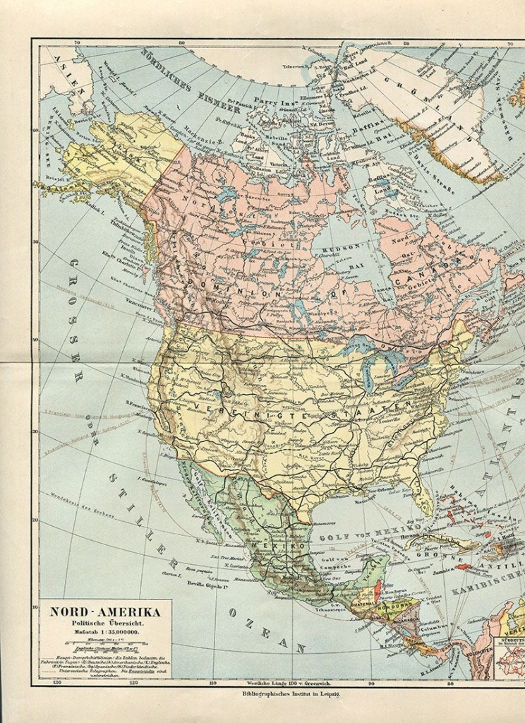 Wonderful Free Printable Vintage Maps To Download | Other | Vintage - Free Printable Custom Maps