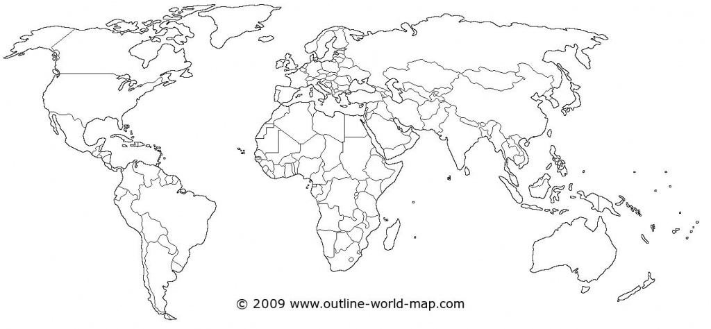 World Map | Dream House! | World Map Coloring Page, Blank World Map - Free Printable Blank World Map Download