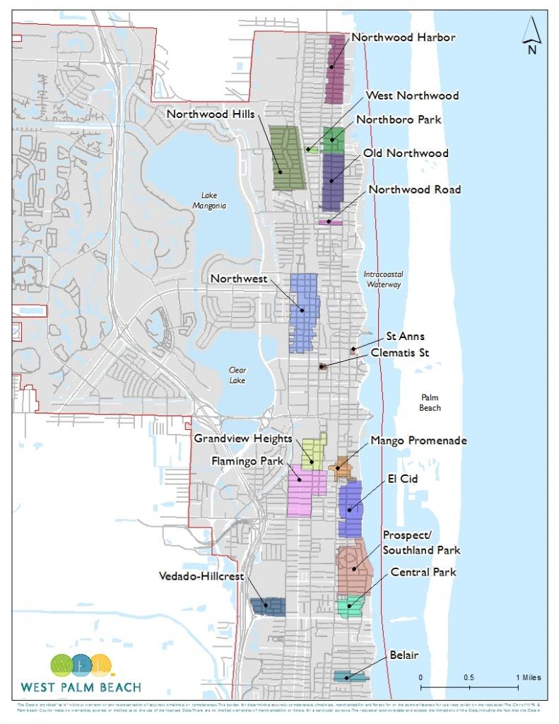 Wpb   City Of West Palm Beach Development Services - Map Of West Palm Beach Florida Showing City Limits