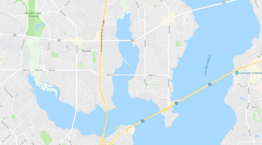 Wwii Mortar Prompts Emergency Evacuation In Texas As Bomb Squad - Rowlett Texas Map