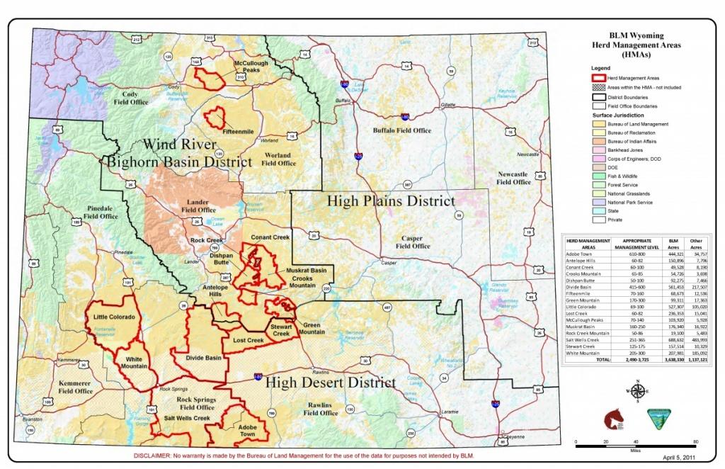Wyoming | Bureau Of Land Management - Blm Land Map Southern California