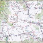 Wyoming Road Map   Printable Map Of Wyoming