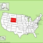 Wyoming State Maps | Usa | Maps Of Wyoming (Wy)   Printable Map Of Wyoming