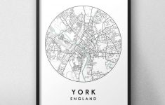 York Street Map Printable