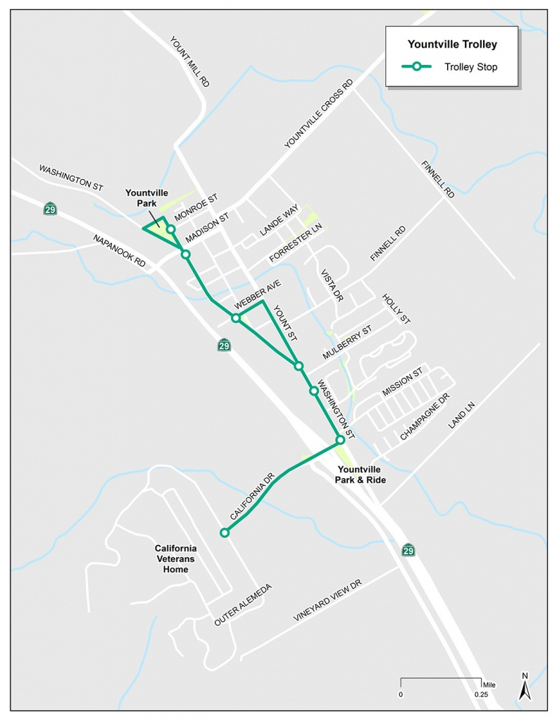 Yountville Trolley   Vine Transit - Where Is Yountville California On The Map