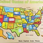 Your Child Learns States And Capitals Map Puzzle Inspirational   California Map Puzzle