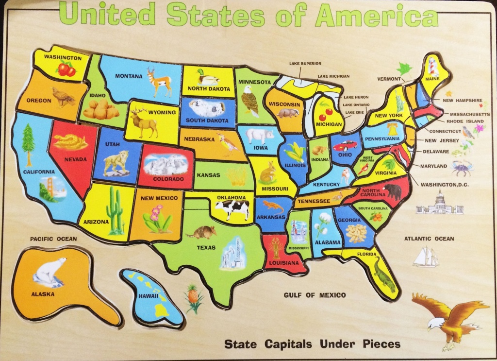 Your Child Learns States And Capitals Map Puzzle Inspirational - California Map Puzzle